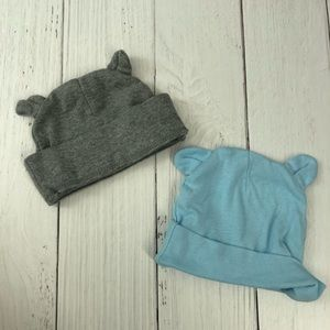 Other - BOYS 0-6 MONTH BEAR EAR HATS
